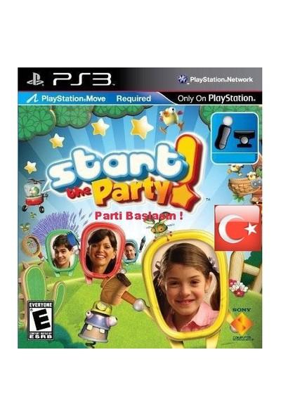 Start the Party Türkçe Ps3 ( Move Uyumlu )