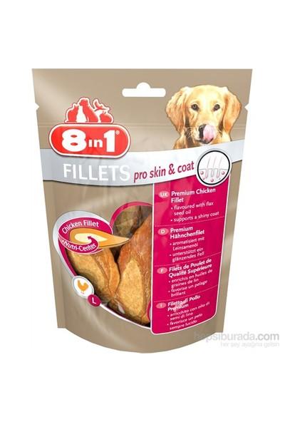 8in1 FIllets Pro Skin&Coat L 80 Gr Köpek Ödülü