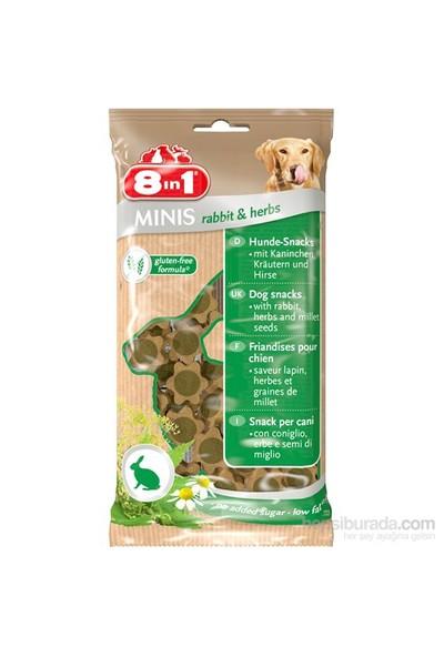 8İn1 Mınıs Rabbit&Herbs 100 Gr Köpek Ödülü (Tavşanlı&Otlu)