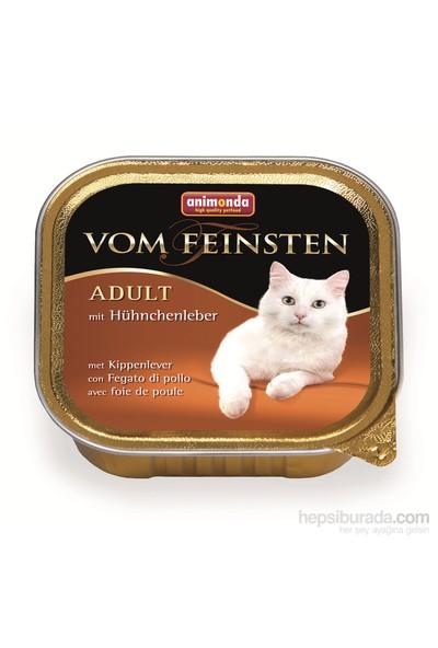 Animonda V.F. Tavuklu Ciğerli Kedi Konserve 100 Gr