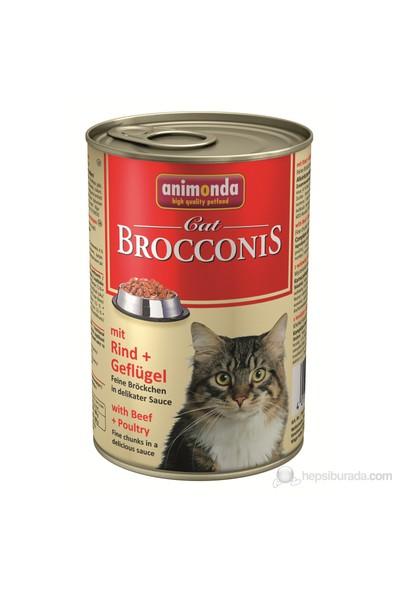 Animonda Brocconis Cat Sığır Etli& Kümes Hayvanlı Konserve 400 Gr