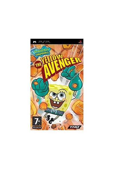 Spongebob The Yellow Avenger Psp