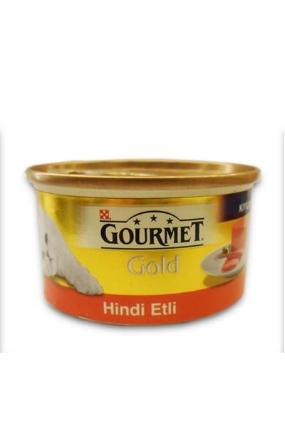 Gourmet Gold Kıyılmış Hindi Etli Kedi Konservesi 85 Gr - 6 Adet