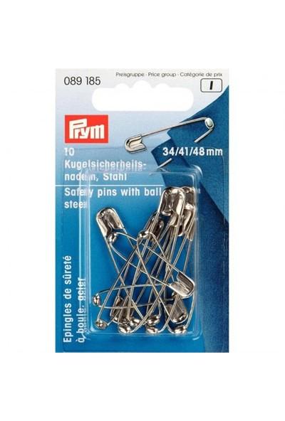 Prym 10 Adet Gümüş Çengelli İğne - 089185