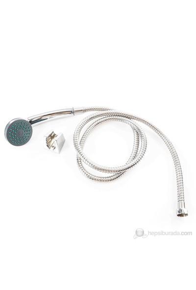 Zen Aqua Duş Seti 2063C - Krom Kaplamalı / Tek Fonksiyonlu