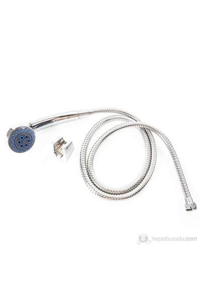 Zen Aqua Sabit Duş Seti 2302C - Krom Kaplamalı / 3 Fonksiyonlu