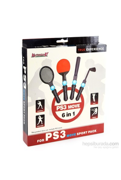 Kontorland PS3 Move 6 in 1 Sport Pack