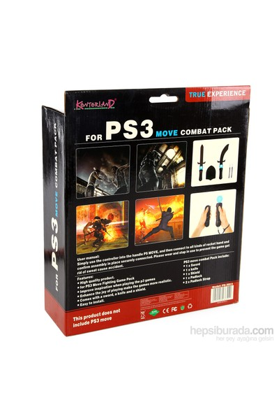 Kontorland PS3 Move 5 in 1 Combat Pack