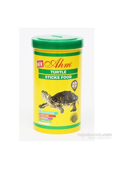 Turtle Sticks Kaplumbağa Yemi 1000Ml