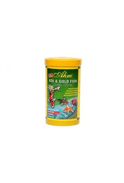 Balık Yemi Koi Goldfish Green Sticks 1000 Ml