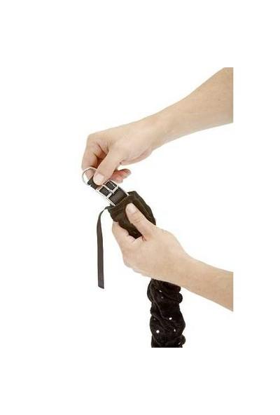 Karlie Boyun Tasması Kılıfı Changeant 10X50cm Siyah K65415