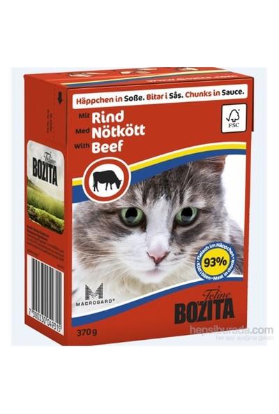 Bozita Cis Beef Biftekli Tahılsız Kedi Konservesi 370 Gr