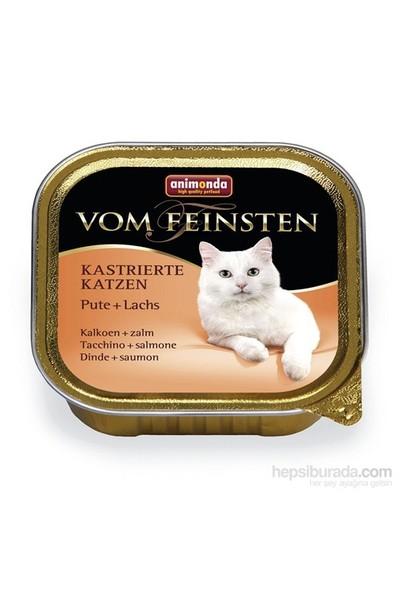 Animonda Vom Feınsten Neutered Hindi Etli Somon Balıklı Kedi Konservesi 100 gr
