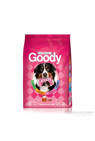 Goody Kuzu&Pirinçli Yetişkin Köpek Maması 2,5 Kg