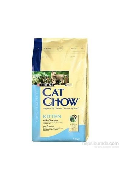 Cat Chow Yavru Tavuklu Kuru Kedi Maması 15Kg
