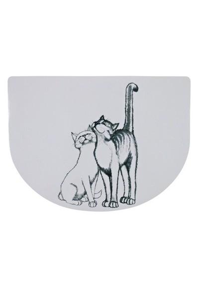 Trixie Kedi Mama Servisi 40×30 cm Yarım Daire