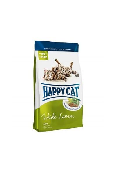 Happy Cat Weide Lamm Kuzu Etli Kedi Maması 4 Kg