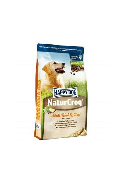 Happy Dog Naturcroq Biftekli Köpek Maması 15 Kg