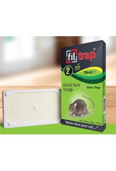 Dual Chemical Filtrap Plastik Fare Yapışkanı (2'Li Paket)