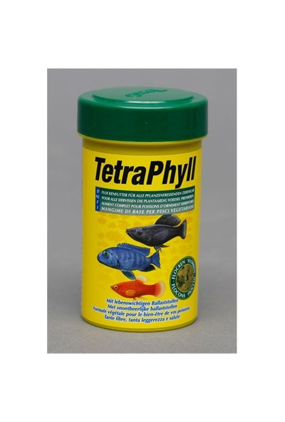 Tetra Tetra Phyll Yem 100 Ml Balık Yemi