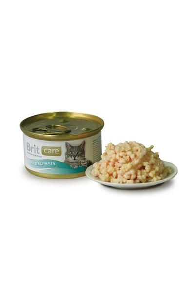 Brit Care Kitten Chicken Tavuklu Yavru Kedi Konservesi 80 Gr