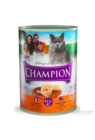 Champion Kümes Hayvanlı Yaş Kedi Konserve Maması 415 gr