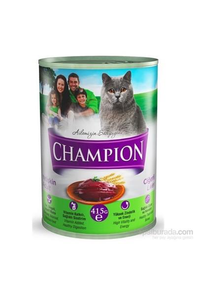Champion Ciğerli Yaş Kedi Konserve Maması 415 gr