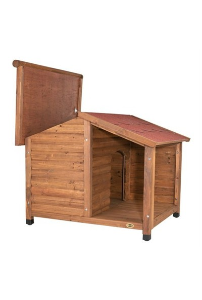 Trixie köpek teraslı kulübesi 130x100x105cm