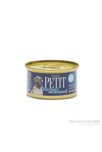 Petit Canned Uskumru Ve Deniz Yosunlu Köpek Konservesi 80 Gr