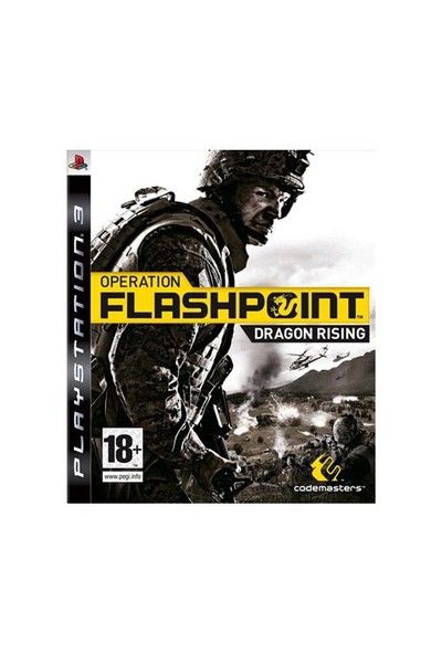 Operation Flashpoint Dragon Rising Ps 3