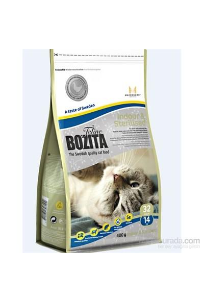 Bozita Feline Indoor Sterilised Evde Yaşayan ve Kısırlaştırılmış Kedi Maması 400 Gr