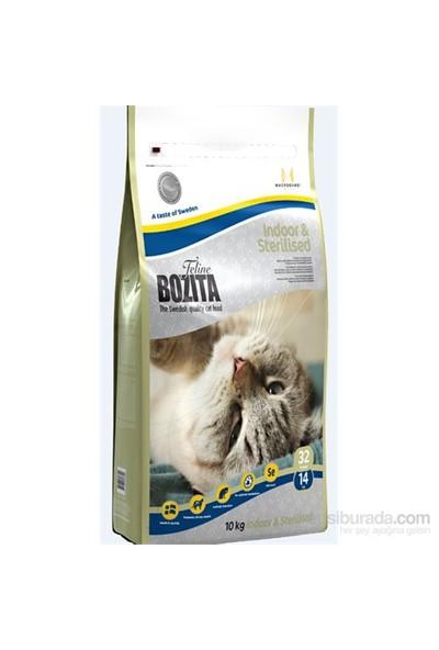 Bozita Feline Indoor Sterilised Evde Yaşayan ve Kısırlaştırılmış Kedi Maması 10 Kg