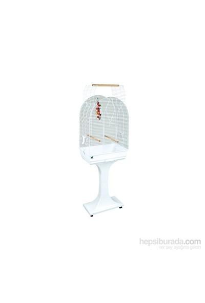 Fop Rachele Beyaz Papağan Kafes