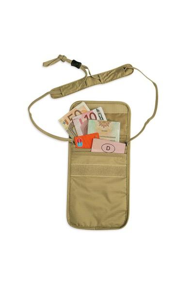 TATONKA - Skin Folded Neck Pou Pasaport Cüzdanı Yeşil