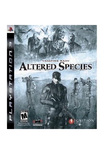 Vampire Rain :Altered Species Ps3