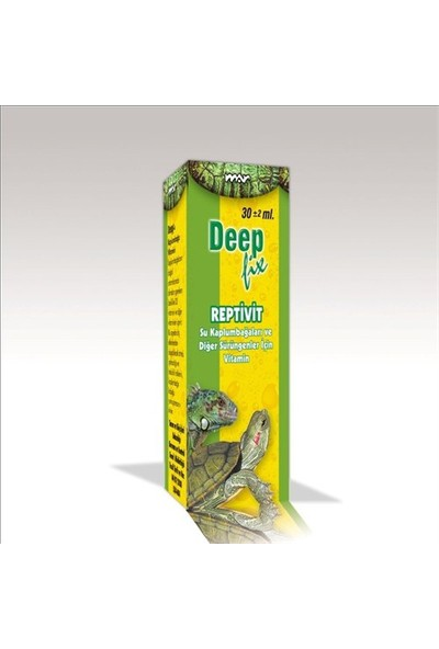 Deep Fix Reptivit ( Kaplumbağa Vitamini ) 30 Ml.