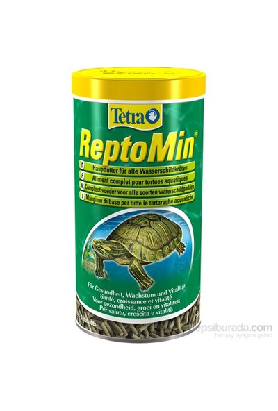 Tetra Fauna Reptomin Kaplumbağa Yemi 1 Lt