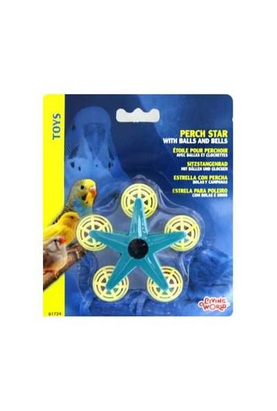 Hagen Living World Yıldız Şekilli Zilli Kuş Oyuncağı 700-81724 Aks311