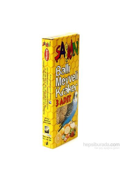 Şaşkın Meyveli Muhabbet Kuşu Krakeri - 100 g