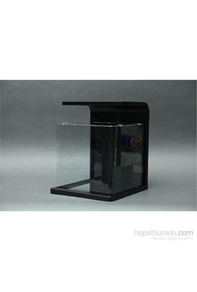 Hailea E15 Nano Akvaryum 15 L Siyah