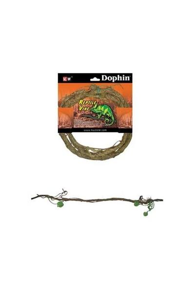 Dophin Sürüngen Aksesuar Sarmaşık M 200-05466