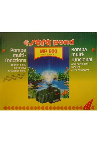 Sera Mp 600 Havuz Pompası