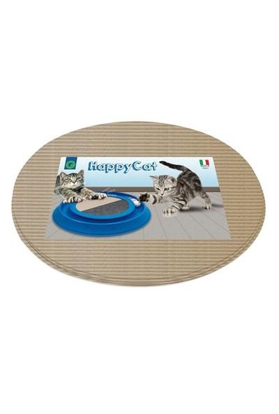 Georplast ''Happycat'' Plastik Kabı Ve Karton Tırmalama Alanı 41 X 38 X 5 Cm