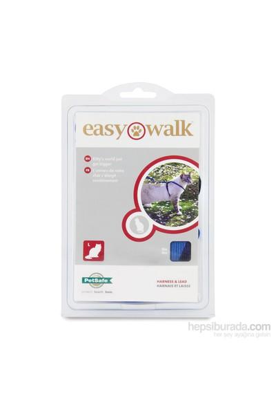 Easy Walk™ Cat Harness & Lead - Large Mavi Kedi Tasması
