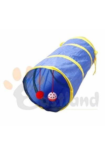 Eastland Çıngıraklı Kedi Tüneli 25 Cm X 55 Cm