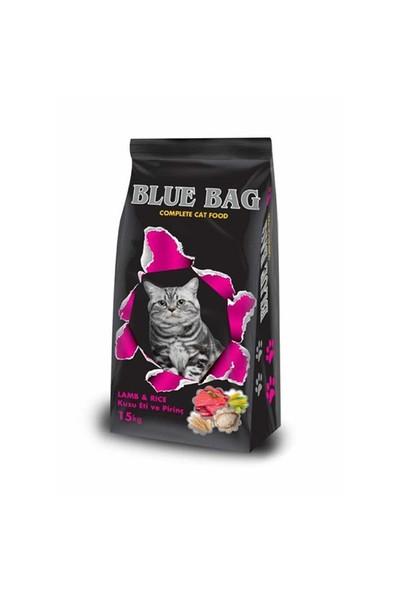 Blue Bag Kuzu Etli Pirinçli Yetişkin Kedi Maması 15 Kg