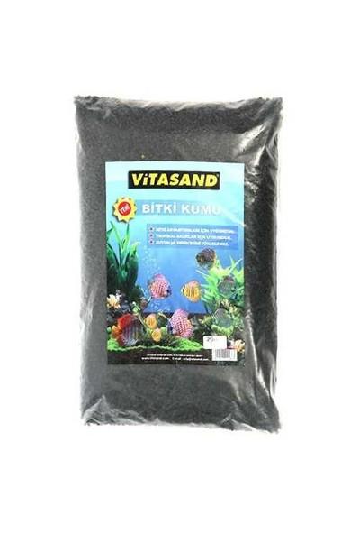 Vitasand Akvaryum Bitki Kumu Siyah 20 Kg