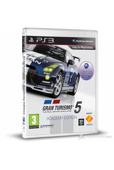 Gran Turismo 5 Academy Edition Türkçe PS3