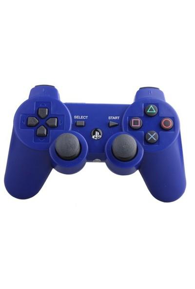 Sony Playstation 3 Titreşimli Joystick (Mavi)