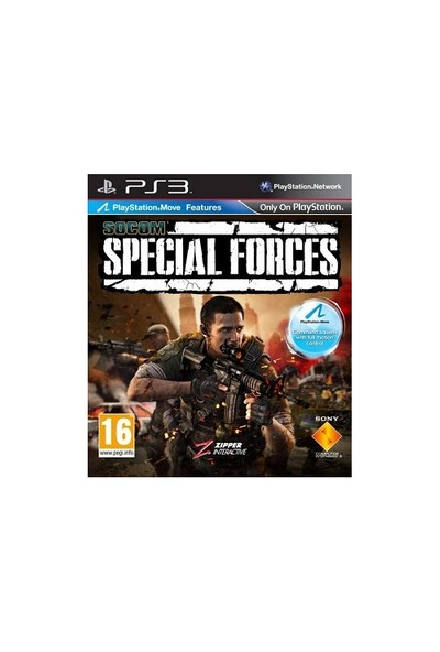 SOCOM Special Forces Move Uyumlu Ps3